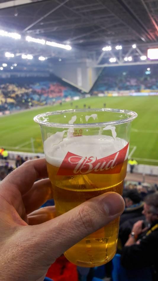 In GelreDome stroomt tegenwoordig Bud-bier uit de tap.