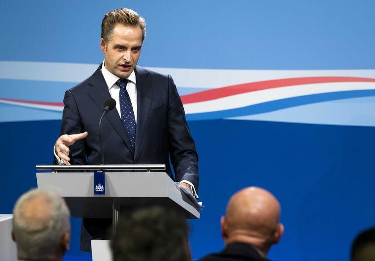 De Nederlandse minister van Volksgezondheid Hugo de Jonge.