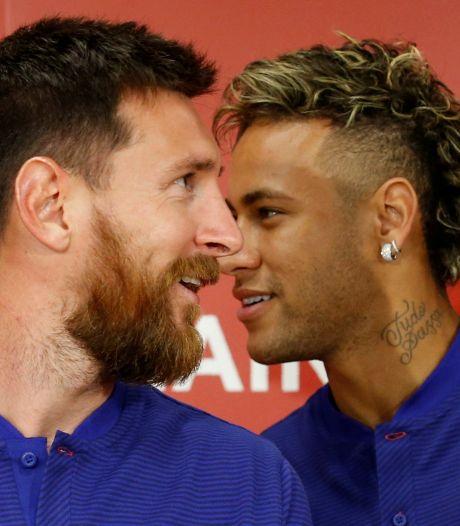 Neymar voedt geruchten: 'Hoop volgend seizoen weer met Messi samen te spelen'