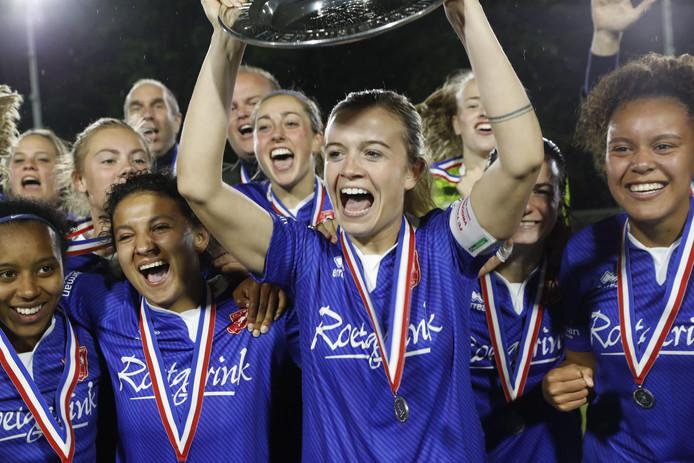 De FC Twente Vrouwen kroonden zich onlangs tot kampioen van de eredivisie.
