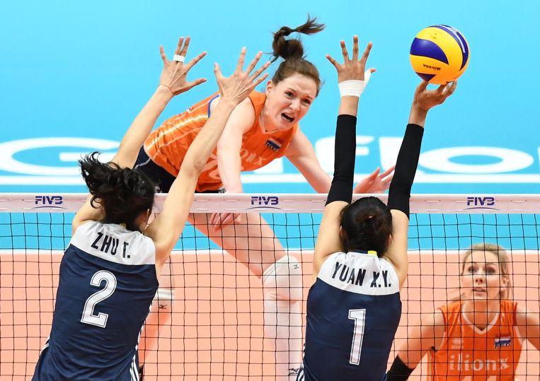 Nations League, na de Spelen in 2021. Beeld AFP