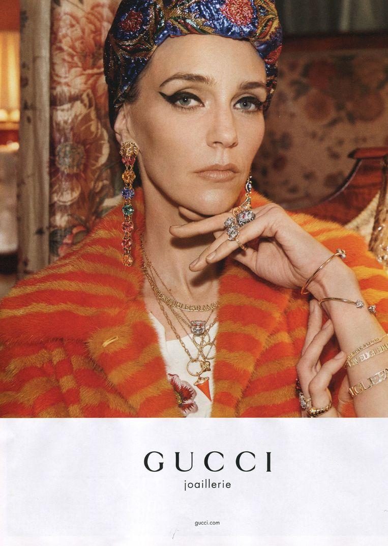 Twee winters geleden, de campagne van Gucci Jewelry.