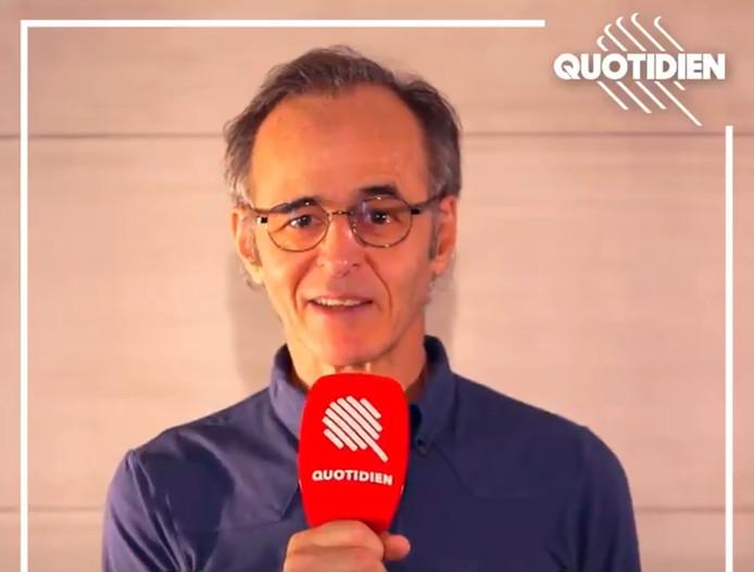 """Jean-Jacques Goldman est le parrain de la quatrième saison de """"Quotidien""""."""