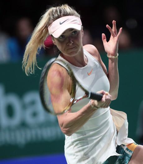 Svitolina opent WTA Finals met overtuigende zege op Kvitova