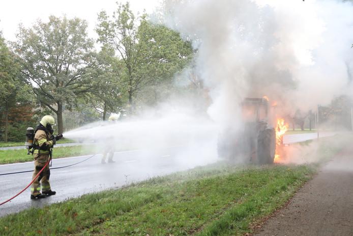 Tactor uitgebrand in Oss.