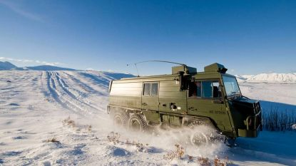 Dit ijzersterke legervoertuig is ook een ideale camper (en gewoon te koop)