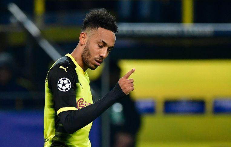 De goal van Aubameyang volstond niet om Dortmund in de CL te houden.