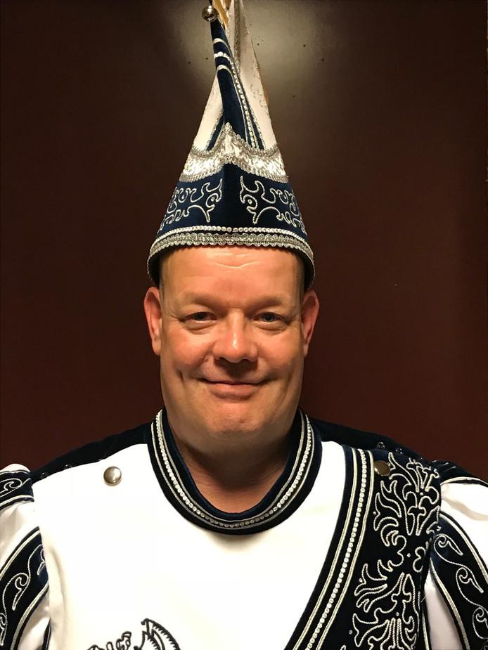 John Rouw, prins Feestneus in Groesbeek.