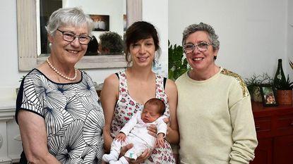 Nell schenkt familie tweede viergeslacht