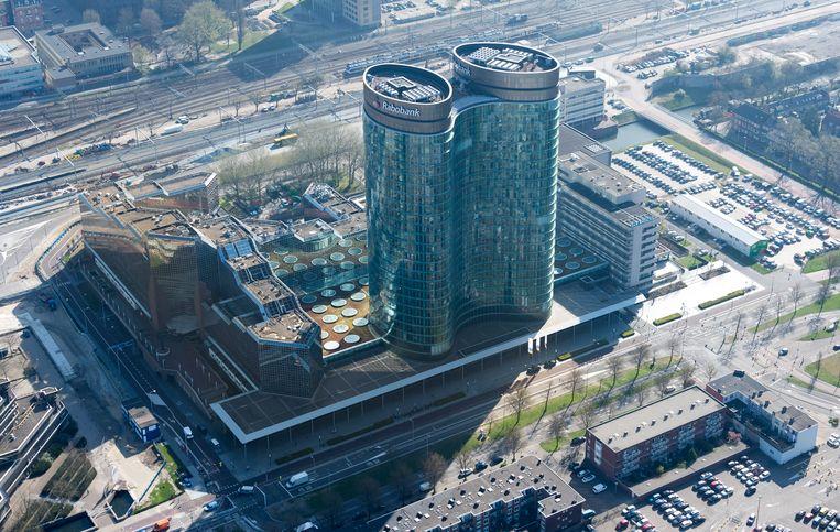 Het Utrechtse hoofdkantoor van de Rabobank. Beeld ANP XTRA