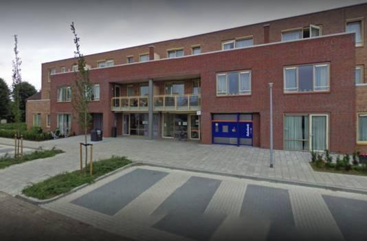 De pinautomaat van de Rabobank in Giesbeek.