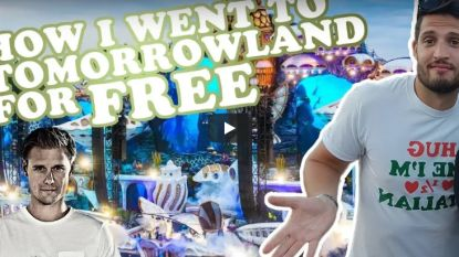 """YouTuber toont hoe hij gratis Tomorrowland binnen raakte: """"Zelfs voor de drank moest ik niets betalen"""""""