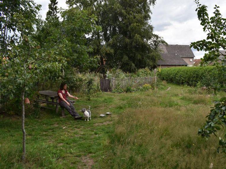 Lang gras, vaste planten, struiken en bomen met verschillende lagen blaadjes nemen CO2 op en hebben  een groter koelend effect dan een kort gemaaid gazon.