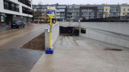 Inrit nieuwe ondergrondse parking Boomgaardstraat is open