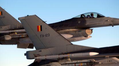 Belgische F-16's bewaken permanent Benelux-luchtruim