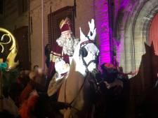 In Breda 'verft' Sinterklaas zijn paard nog altijd wit