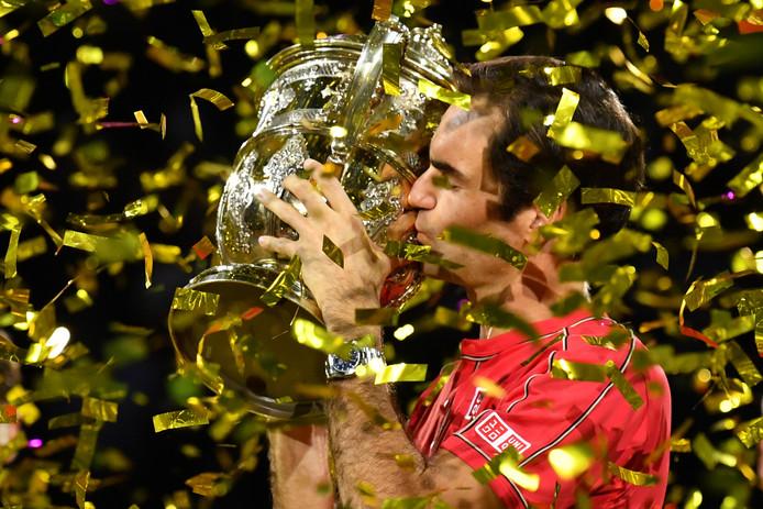 Roger Federer met wéér een prijs.