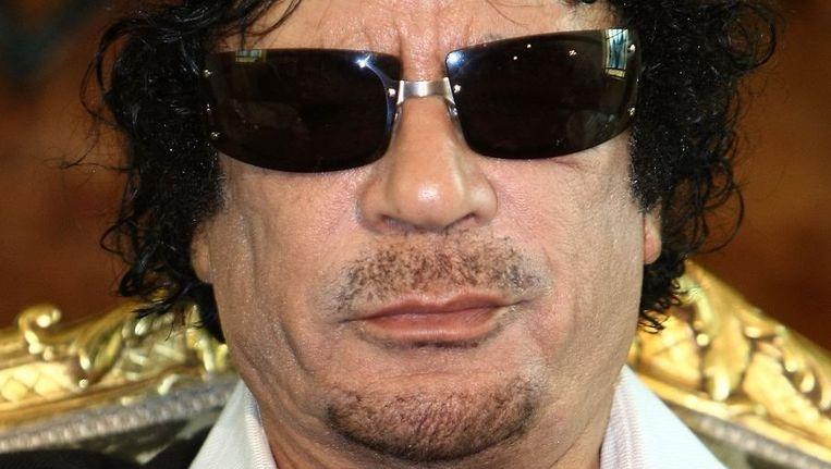 © Muammar Kaddafi. Beeld null