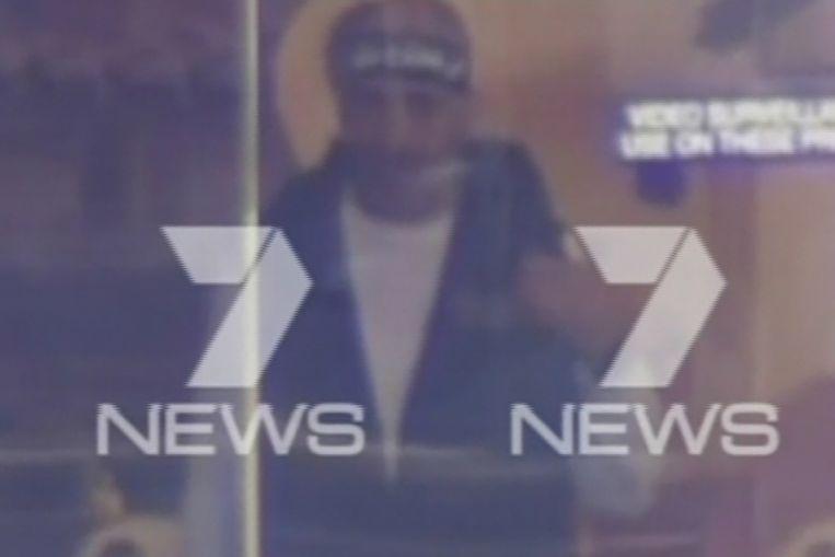 Videobeeld van de gijzelnemer. Beeld reuters