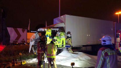 A12 richting Brussel weer open na ongeval met vrachtwagens