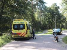 Eenzijdig ongeval op de Beerzerweg: motorrijder naar ziekenhuis
