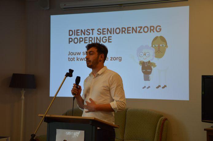 Start Seniorenloket en dienst Seniorenzorg - schepen Bryan Vanderhaeghe