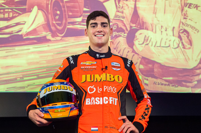 NTT Indycar 2020 Rookie Rinus 'VeeKay' van Kalmthout gaat in Amerika zijn debuut maken in de Indycar NTT series.