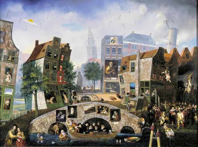 Jean Thomasen: 28 x Rembrandt. Foto Museum Slager