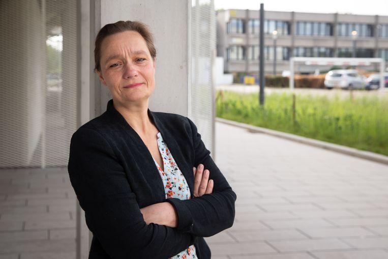 Professor Erika Vlieghe, voorzitter van de expertengroep GEES.