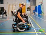 Razendsnelle stoel voor 'de Messi van rolstoelhockey'