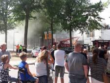 Brand in GGZ-gebouw in Tilburg mogelijk ontstaan door onkruidbrander