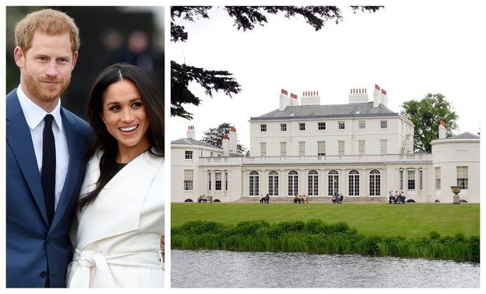 Meghan en Harry woonden in de UK in Frogmore Cottage.