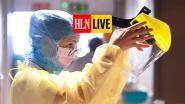 LIVE. Aantal besmettingen met coronavirus in ons land daalt niet meer