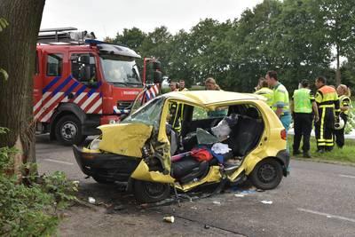 Bestuurder zwaargewond bij eenzijdig ongeval Oekelsebaan Zundert
