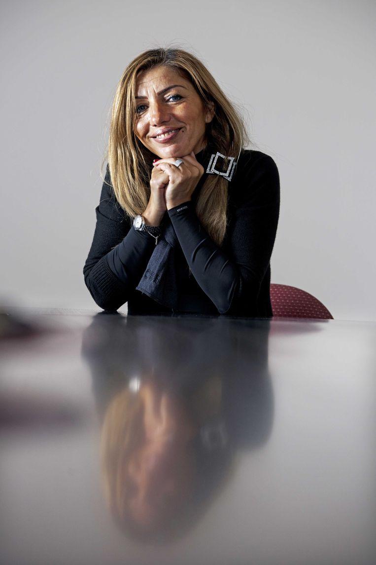 Ex-topvrouw Aysel Erbudak van het Amsterdamse Slotervaartziekenhuis. Beeld ANP
