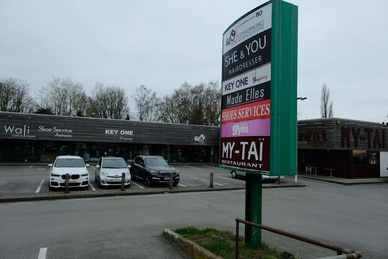 Het winkelcomplex Oppem Center in Wezembeek-Oppem.