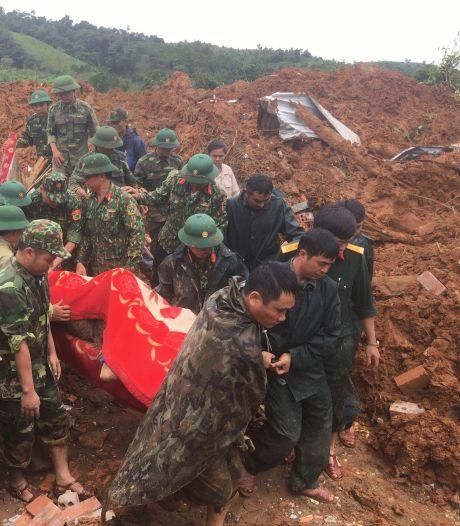 Aardverschuiving in Vietnam: vijf doden en 17 soldaten vermist