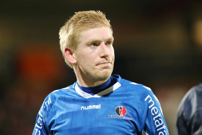 Roel van de Sande, een van de nieuwe spelers bij RKC Waalwijk.