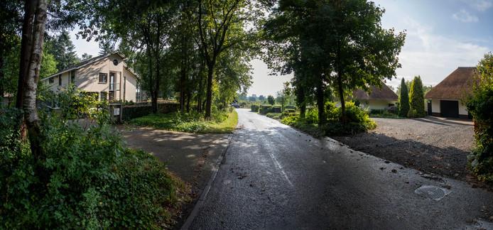 Voor deze villa's in Wageningen Hoog is een vergunning aangevraagd voor kamerverhuur.