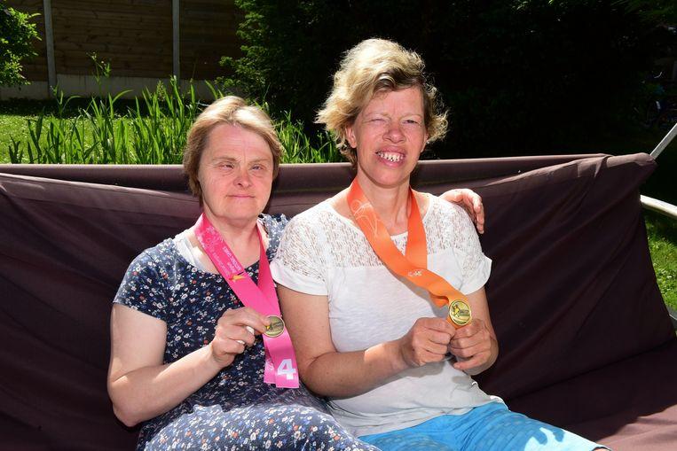 Benedicte en Sofie twee sportieve dames van Zonnelied