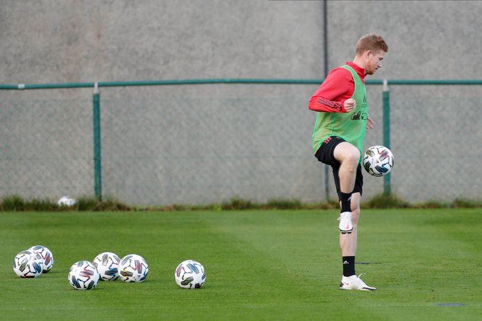 De Bruyne is klaar om te spelen tegen IJsland.