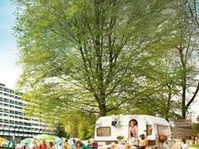'Escape tent' en 'buurcantus': buurtcamping Tilburg pakt het net even anders aan