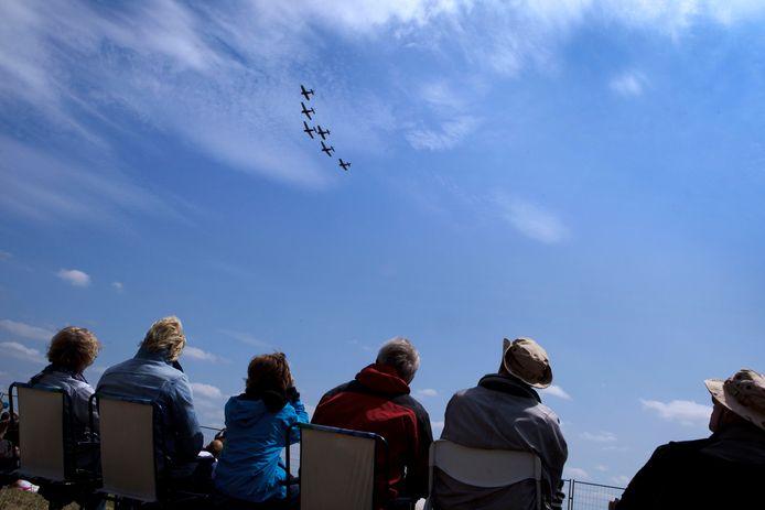 Voor de spotters was het weer genieten tijdens de twintigste editie van Volkel in de Wolken.