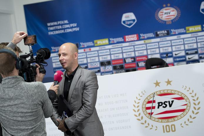 Thijs Slegers in het PSV-stadion.