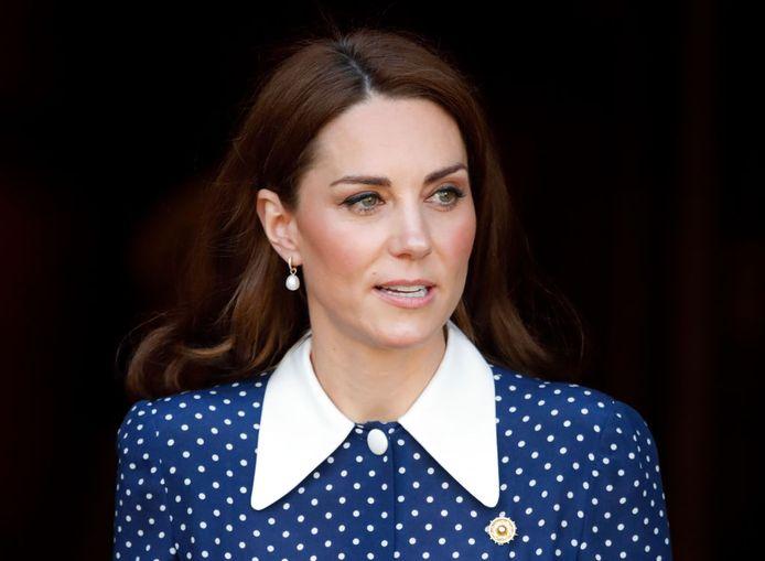 Kate Middleton lors de sa visite de l'exposition 'D-Day: Interception, Intelligence, Invasion'