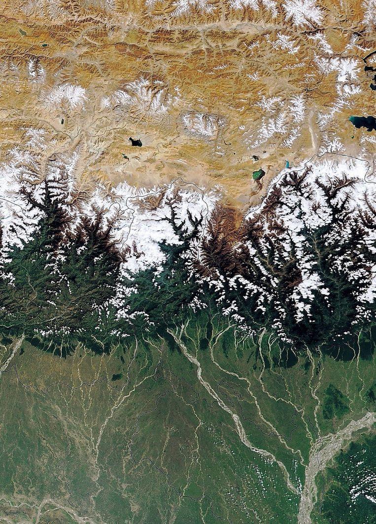 Himalaya. © Lightroom NASA HH Beeld