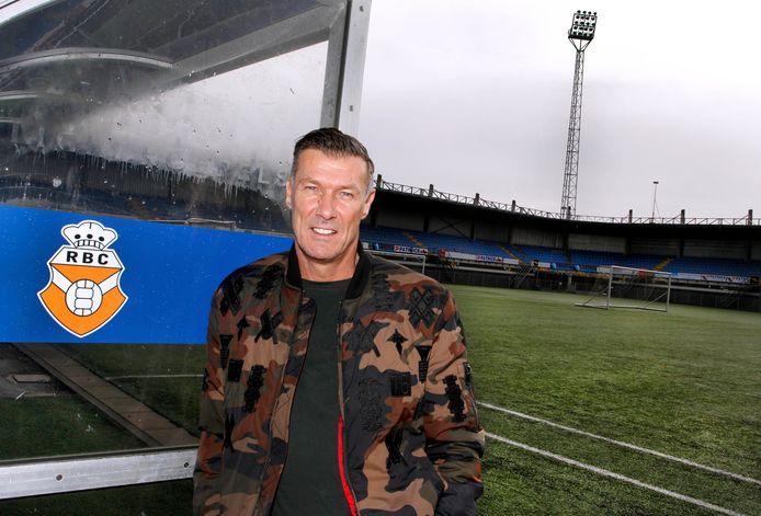 Henk Vos in zijn periode als trainer van RBC.