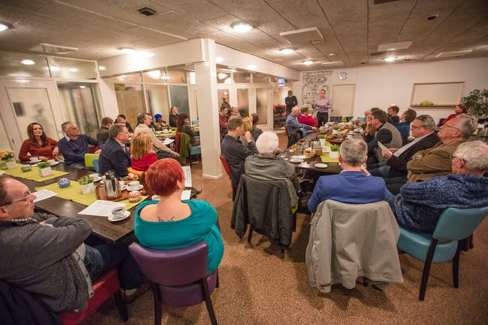 Bijeenkomst Brouwhuis Belang in De Loop