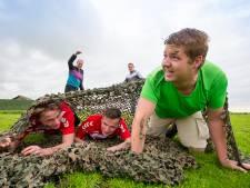 Mudrun zorgt voor het gewenste vertier onder jongeren in Zevenhoven