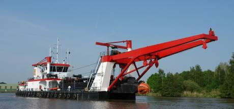 Ondernemer uit Den Ham gaat met 'Twents' baggerschip naar Nigeria